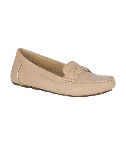 Sperry Ladies Katharine Driver Leather / Linen