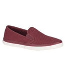 Sperry Ladies Seaside Perforated Varsity / Wine