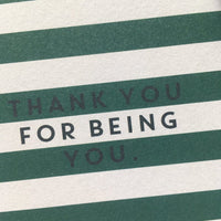 Thank you - stripe