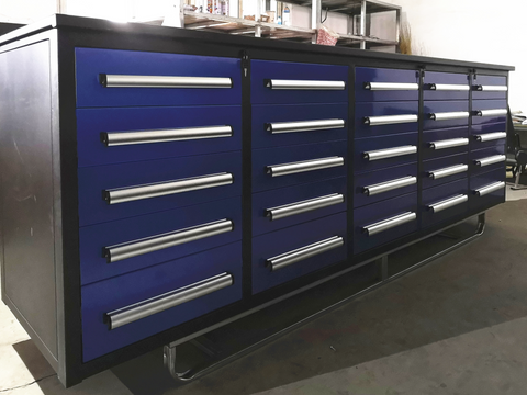 Steelman 10 FT Work Bench with 25 Drawers