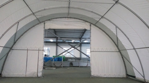 Gold Mountain Single Truss Arch Storage Shelter 304015