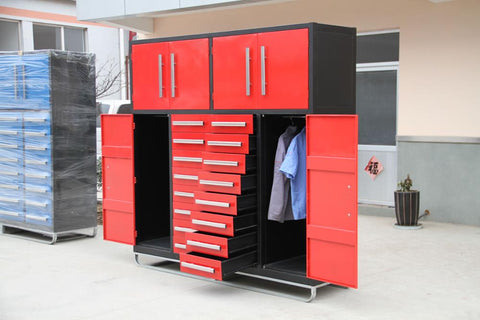Steelman 7 FT Work Bench with 16 Drawers