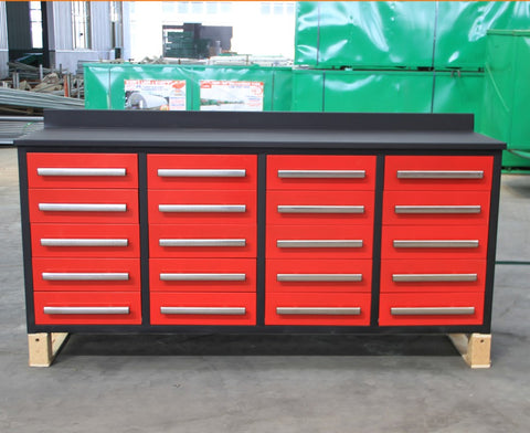 Steelman 7 FT Work Bench with 20 Drawers