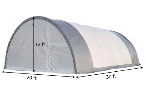 dome storage shelter