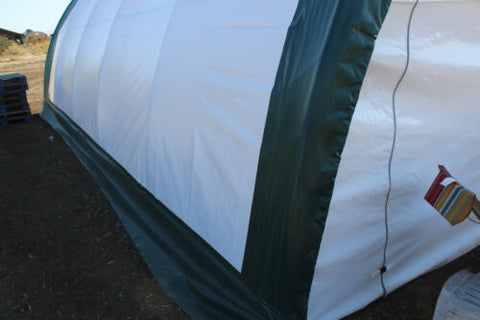Gold Mountain Double Truss Arch Storage Shelter L20'xW30'xH12'
