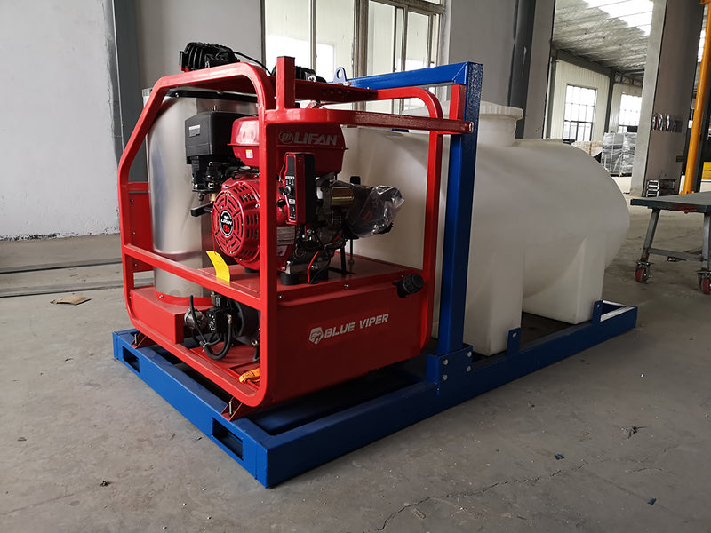 Hot Water Pressure Washer with Water Tank