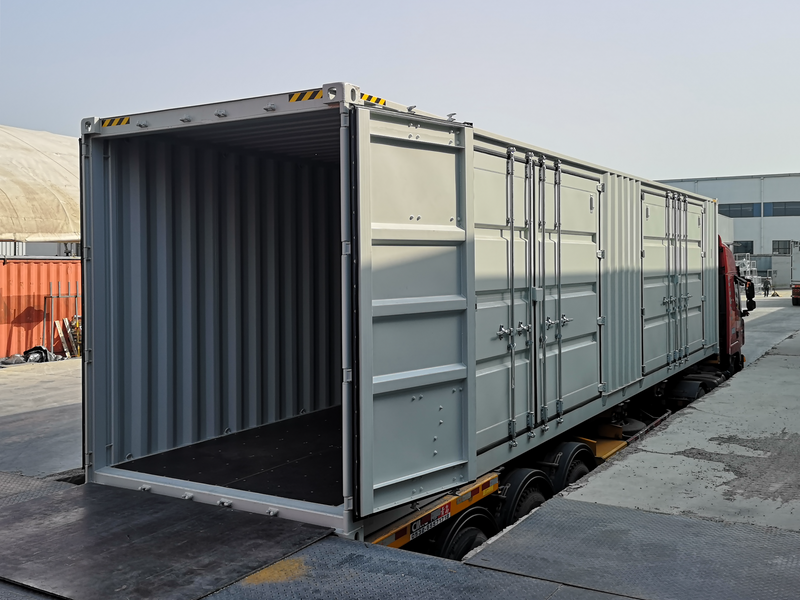 40-feet Container with 2 Side Doors