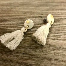 Load image into Gallery viewer, Ceramic Tassel Studs