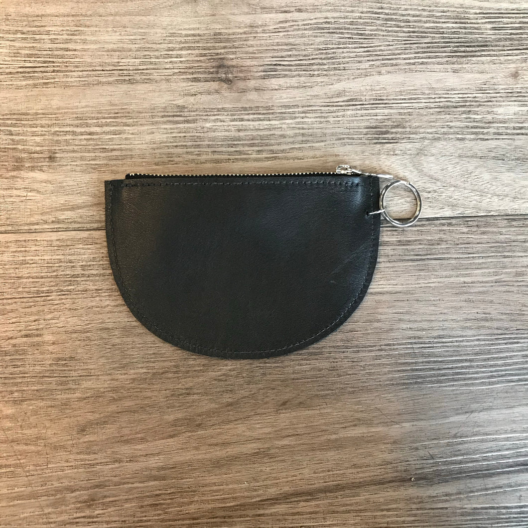 Leather Demi Pouch
