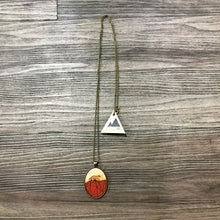 Load image into Gallery viewer, Geometric Fox Necklace