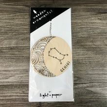 Load image into Gallery viewer, Lasercut Ornament (Zodiac)