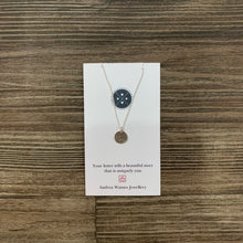 Load image into Gallery viewer, Sterling Silver Monogram Necklace