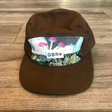 Load image into Gallery viewer, Brown Five Panel Scrap Hat