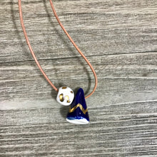 Load image into Gallery viewer, Ceramic Mountain Necklace