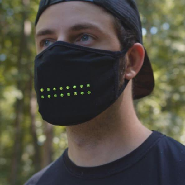 LUMI Voice Activated Face Mask