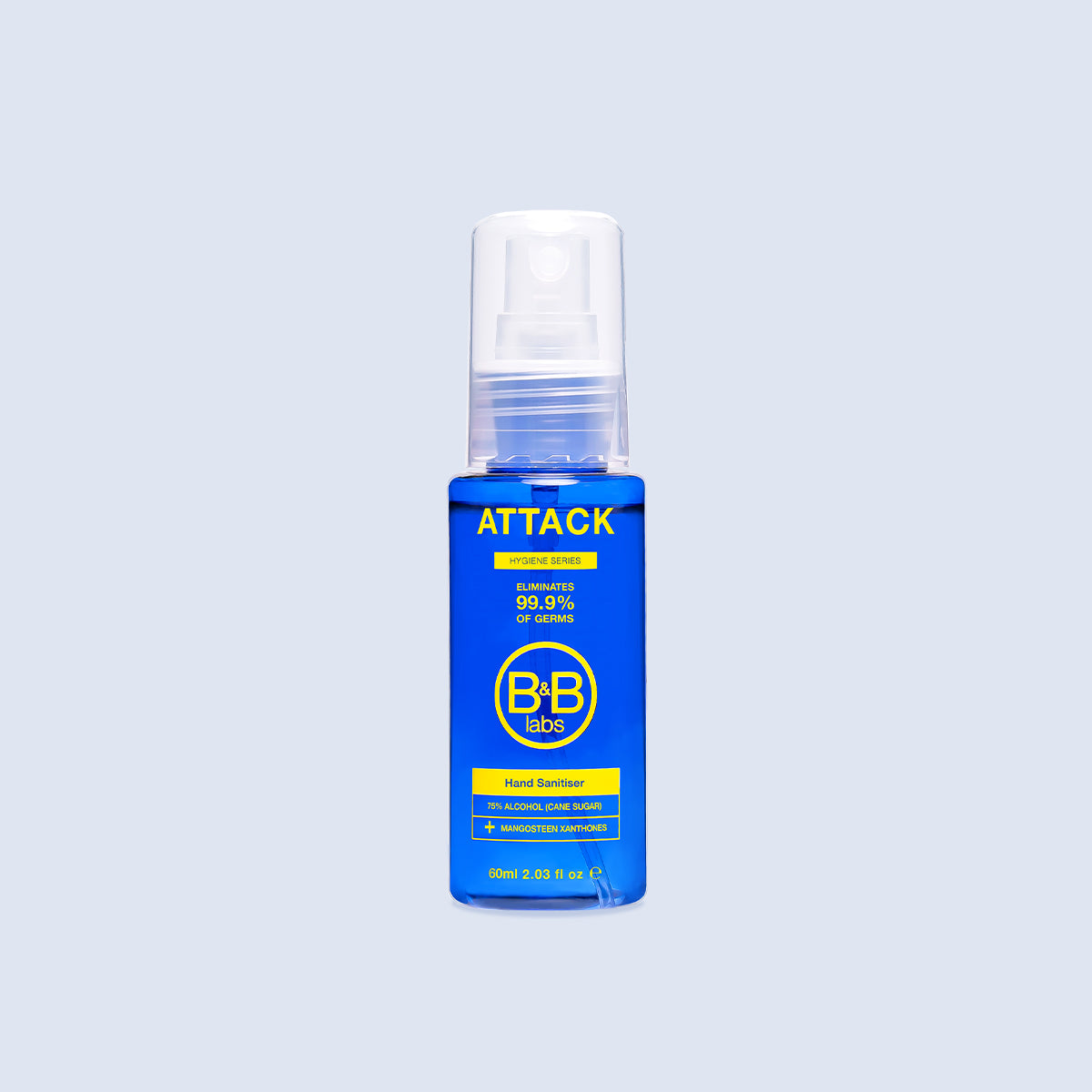 ATTACK – Hand Sanitiser with Microbiome