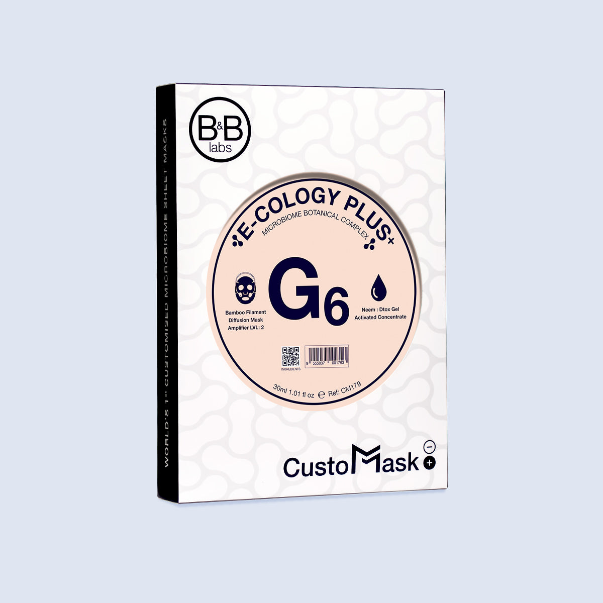 G6 CustoMask for Oiliness-Acne-Prone