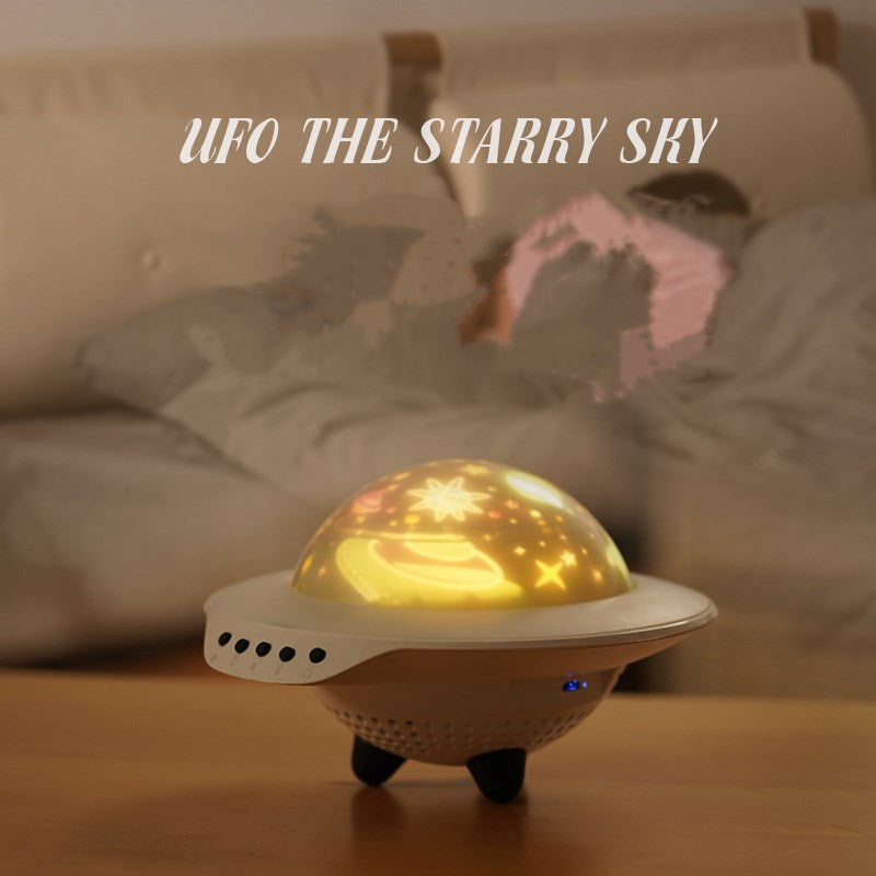UFO Star Night Light Projector for Kids Projection Lamp