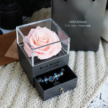 Load image into Gallery viewer, Eternal Rose Jewelry Box for Valentines Day