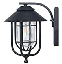 Load image into Gallery viewer, Honeywell Decorative Wall Lantern with LED Vintage Filament Bulb