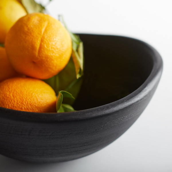 Mango Wood Salad Bowl