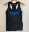 Flyght Crew Women's Racerback Tank - Charcoal Heather