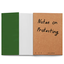 Load image into Gallery viewer, PETER LIVERSIDGE: NOTES ON PROTESTING