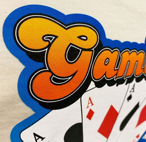 SALE PRICED - Gambler Chassis Company 4 Aces Unisex Tee - Natural