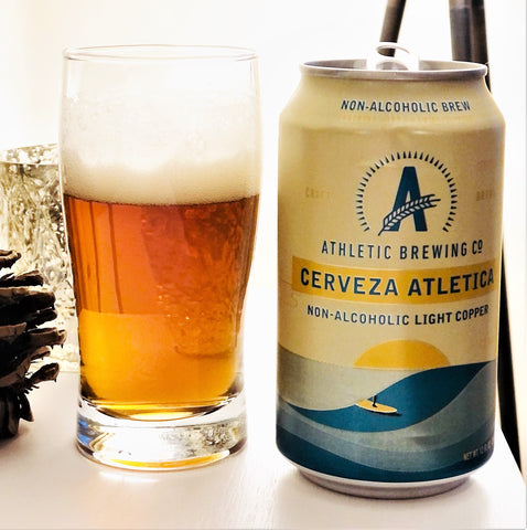 Athletic Brewing Cerveza Athletica Beer