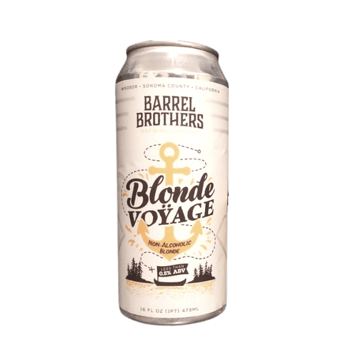 Barrel Brothers Blonde Voyage Non Alcoholic Blonde Ale