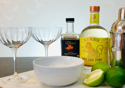 Non-Alcoholic Classic Virgin Daiquiri Ingredients