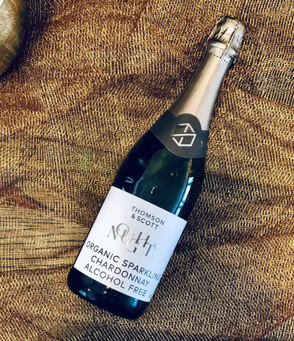 Thomson & Scott Noughty Alcohol Free Organic Sparkling Wine Bottle