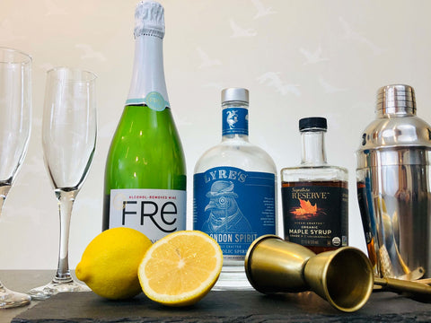 Non-Alcoholic French 75 Ingredients