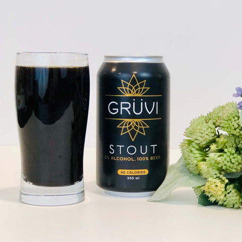 Gruvi Non-Alcoholic Stout Beer