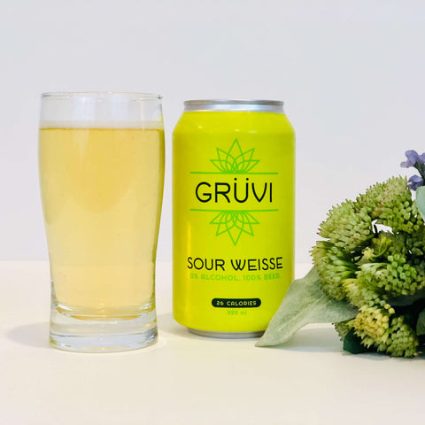 Gruvi Non-Alcoholic Sour Weisse Beer