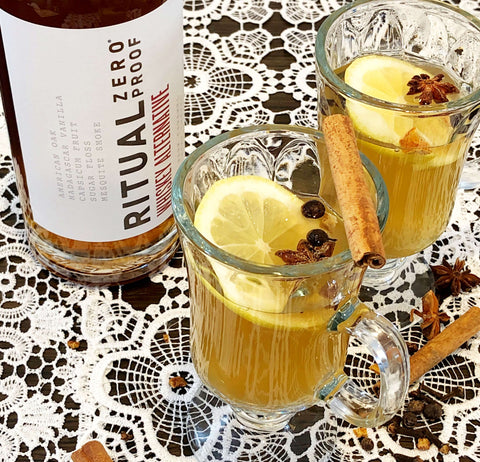 Non-Alcoholic Hot Toddy Drink