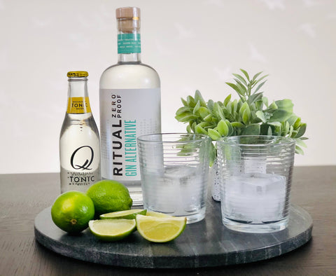 Ritual Non-Alcoholic Gin and Tonic Ingredients