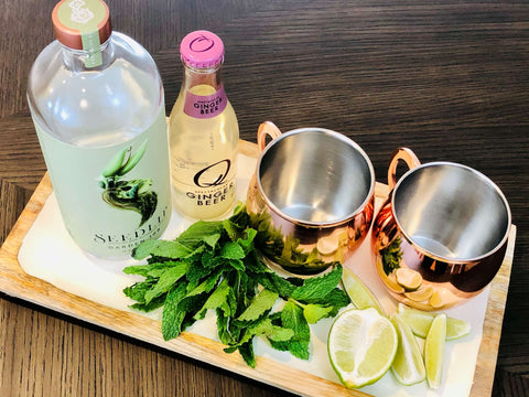 Non-Alcoholic Moscow Mule Ingredients
