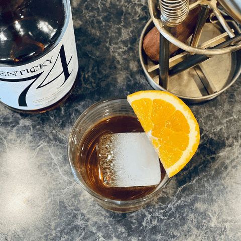 Non-Alcoholic Old Fashion Cocktail Drink