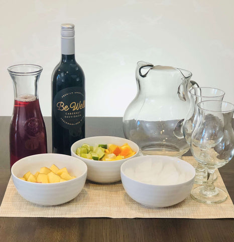 Non-Alcohol Red Sangria Ingredients