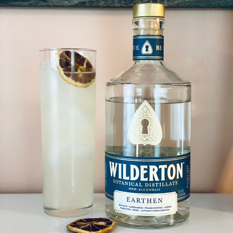 Non-Alcoholic Tom Collins Cocktail