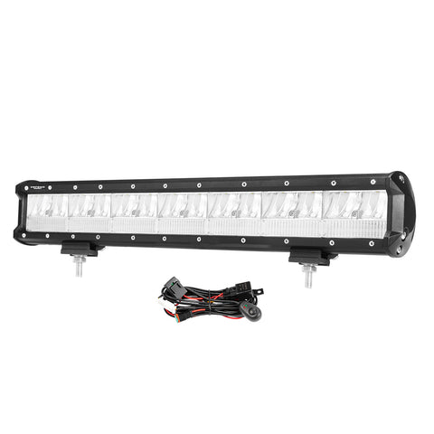 DEFEND 20inch Cree LED Light Bar Spot Flood Driving Lamp Offroad 4WD SUV Truck