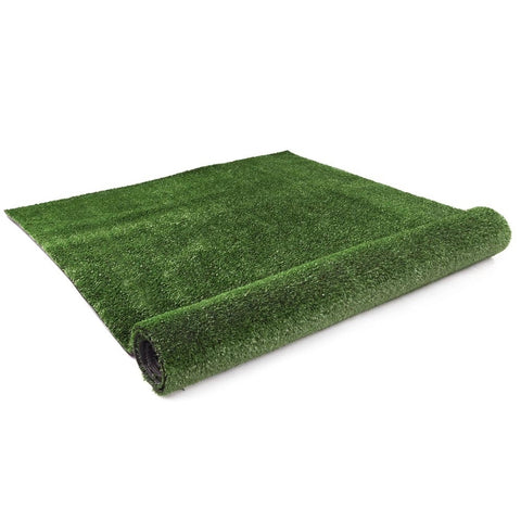 Primeturf Synthetic 17mm  0.95mx10m 9.5sqm Artificial Grass Fake Turf Olive Plants Plastic Lawn