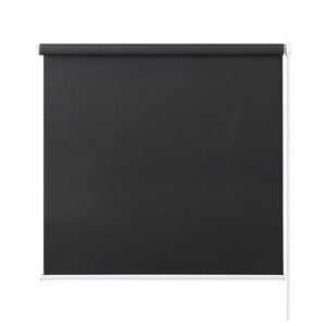 Roller Blinds Blockout Blackout Curtains Window Modern Shades 0.9X2.1M DarkGrey