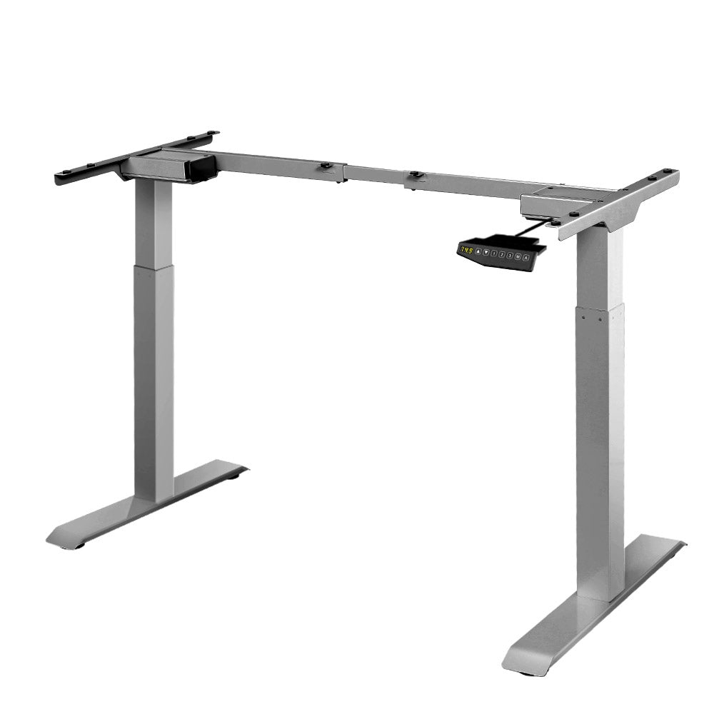 Artiss Motorised Standing Desk - Grey