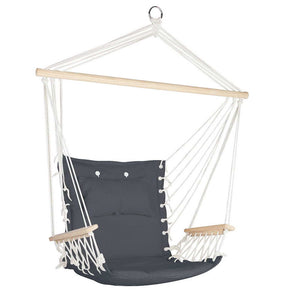Gardeon Hammock Hanging Swing Chair - Grey