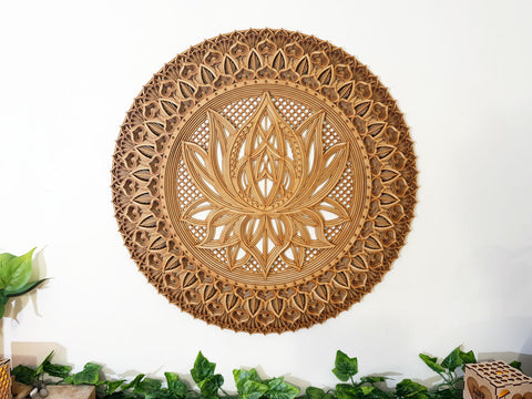 LAYERED MANDALA – LOTUS FLOWER