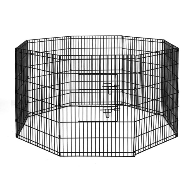 i.Pet 36 8 Panel Pet Dog Playpen Puppy Exercise Cage Enclosure Play Pen Fence""
