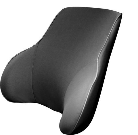 Universal Memory Foam Back Support - GREY