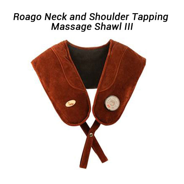 Rocago Neck and Shoulder Tapping Massage Shawl III
